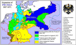 Large Map of Prussia