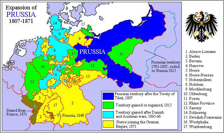Map Of Germany Prior To Unification.Pre 1871 Germany